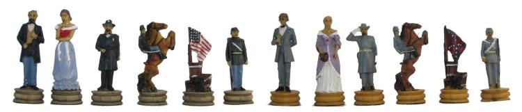 American Civil War Chessmen