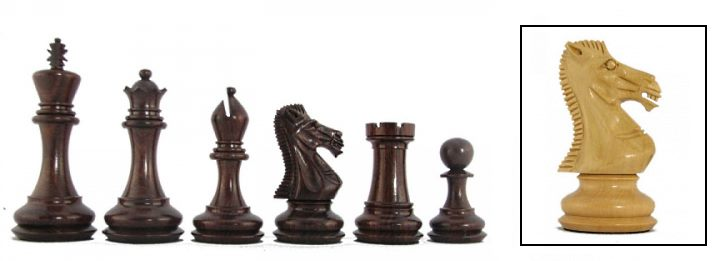 Elite Premier Staunton Chessmen