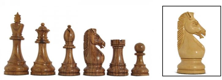 Hoplites Luxury Staunton Chessmen