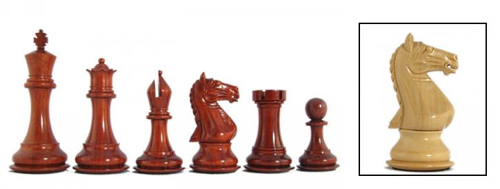 Imperator Luxury Staunton Chess Pieces
