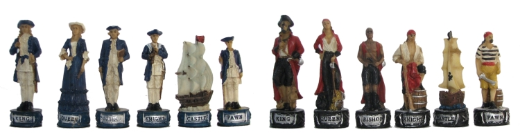Pirate Theme Chessmen
