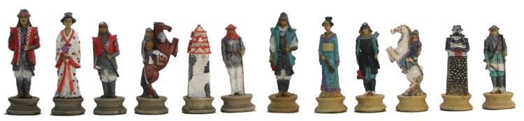 Samurai Chessmen