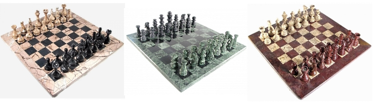 Marble Chess Sets