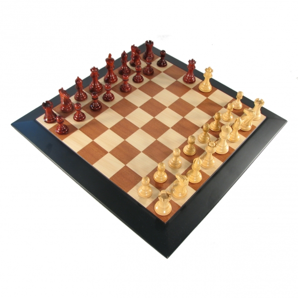 A classic set of Staunton Chess Pieces