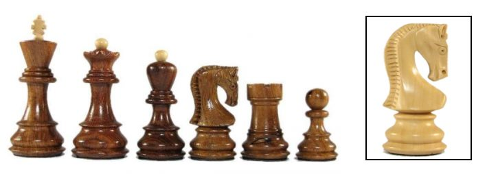 Velites Exotic Staunton Chessmen