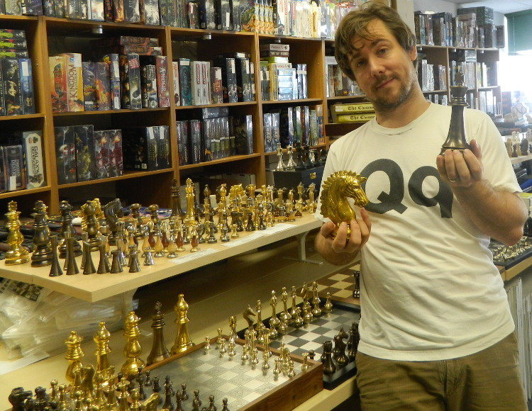 a spotlight on some of the many staunton brass and metal chess sets at chessusa