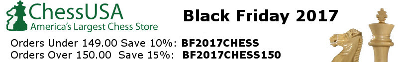 Black Friday Chess Sale 2017