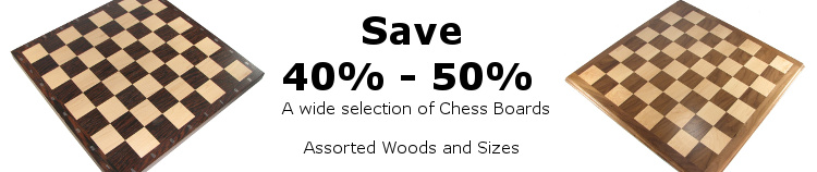 wooden chess boards for our summer sale