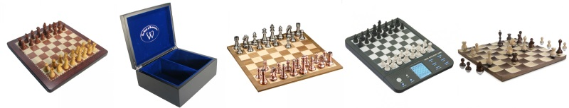 Click Here for Chess Sets, Chess Computers, Chess Boxes and more.