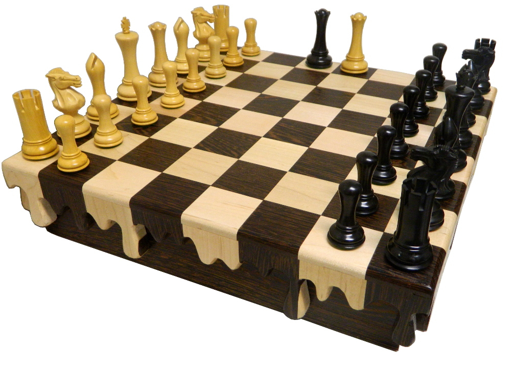 heirloom quality chess set