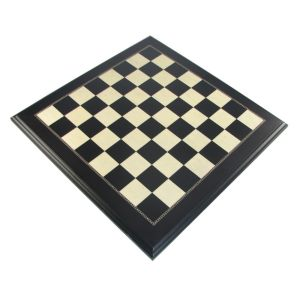 ebonized maple chessboard