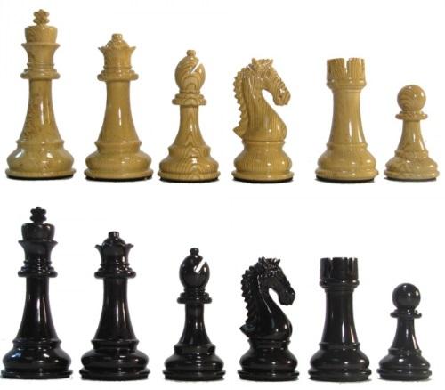 Championship Kasparov Chess pieces