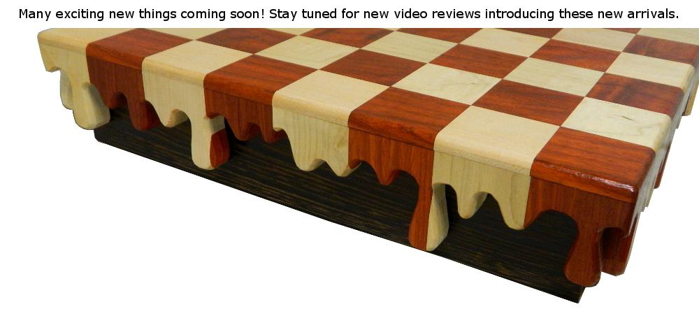 Dali Inspired Drip Chess Board