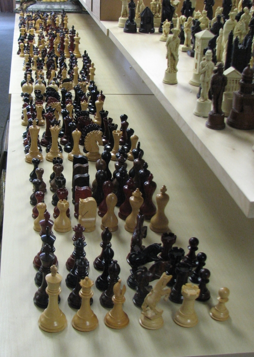 new heritage collection chessmen