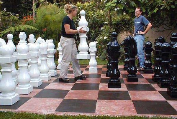 Awesome Outdoor Chess Sets