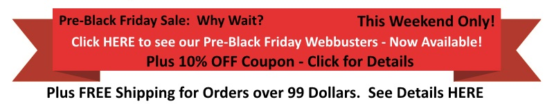 The special webbusters for black friday 2014