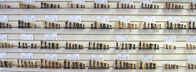 traditional decorative chessmen