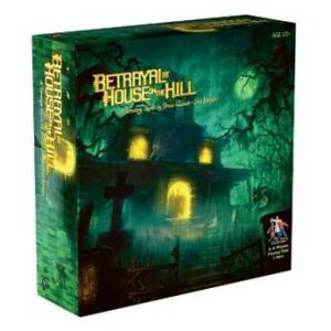 betrayal at house on the hill horror board game