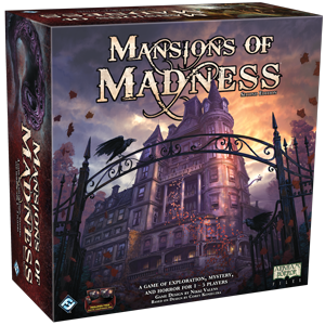 mansions of madness 2nd edition horror board game
