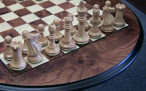 Figure 1-5 chess set line up