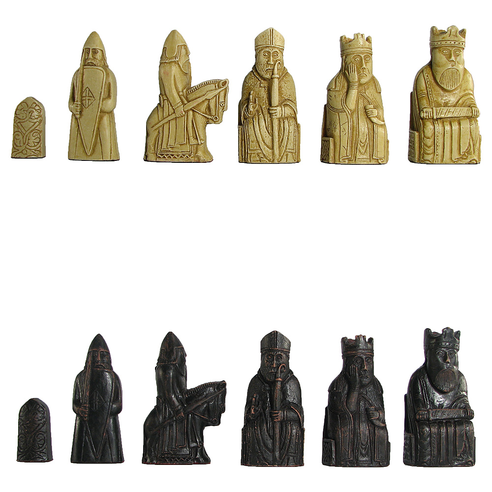 Chess sets from around the world part 1 england spain chess usa - Lewis chessmen set ...