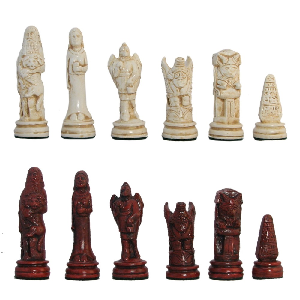 4 quot ancient persian hydrostone chess pieces