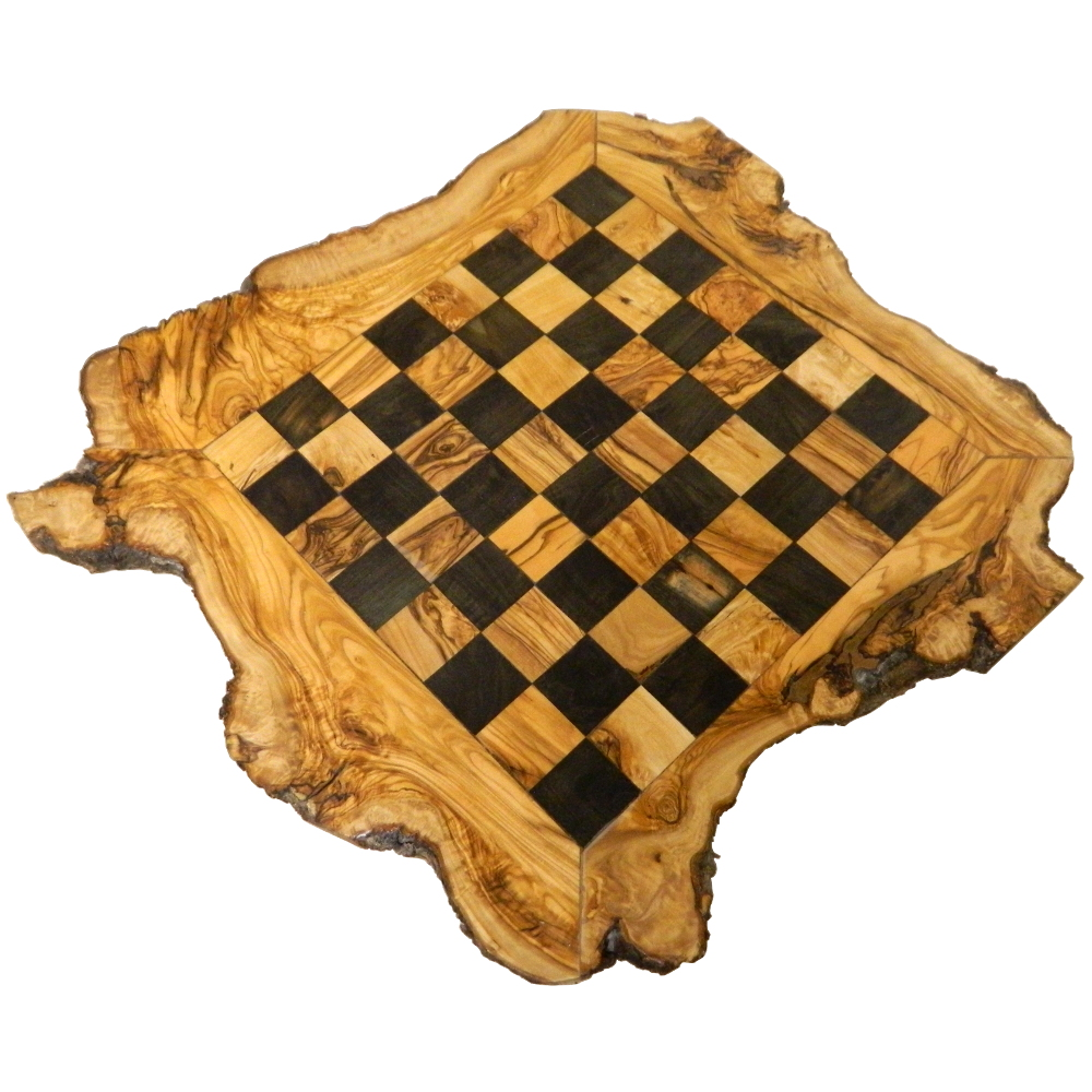 Unique Executive Olivewood Chess Board