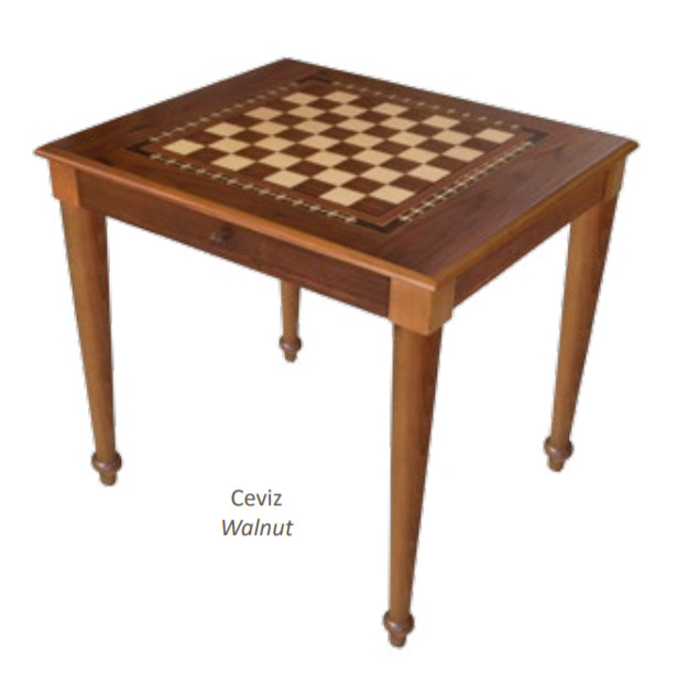 Large Luxury Turkish Chess Table With