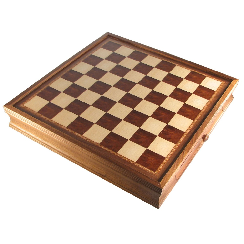19 Chess Board With Storage Drawers