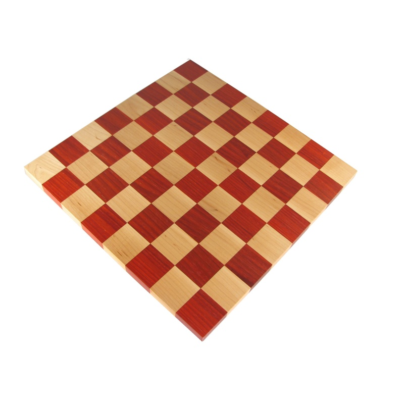 Wooden Flat Chess Board Walnut 14
