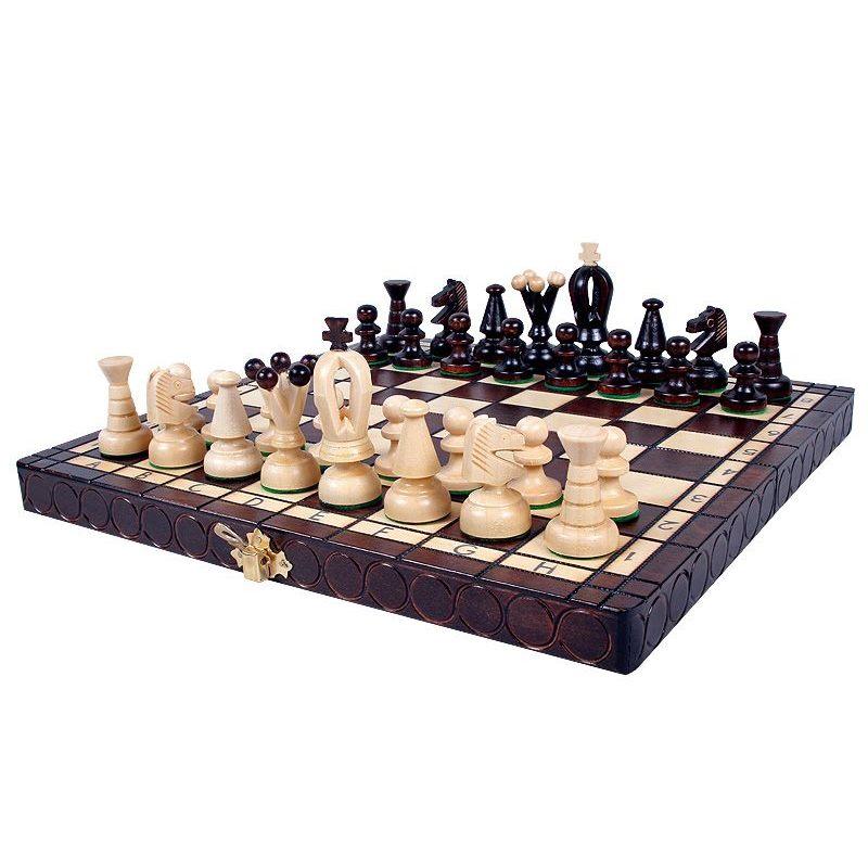 11 Imported Polish Kings Folding Chess Set