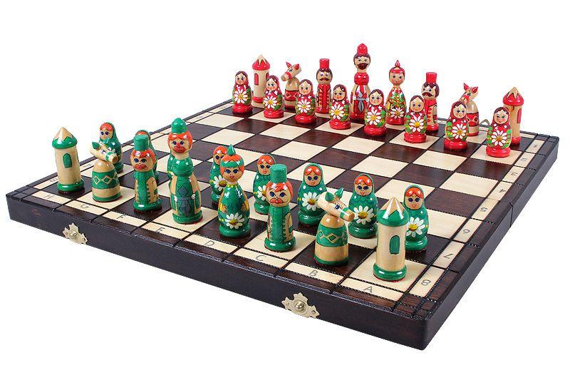 Polish Babushka Folding Chess Set Chess Usa
