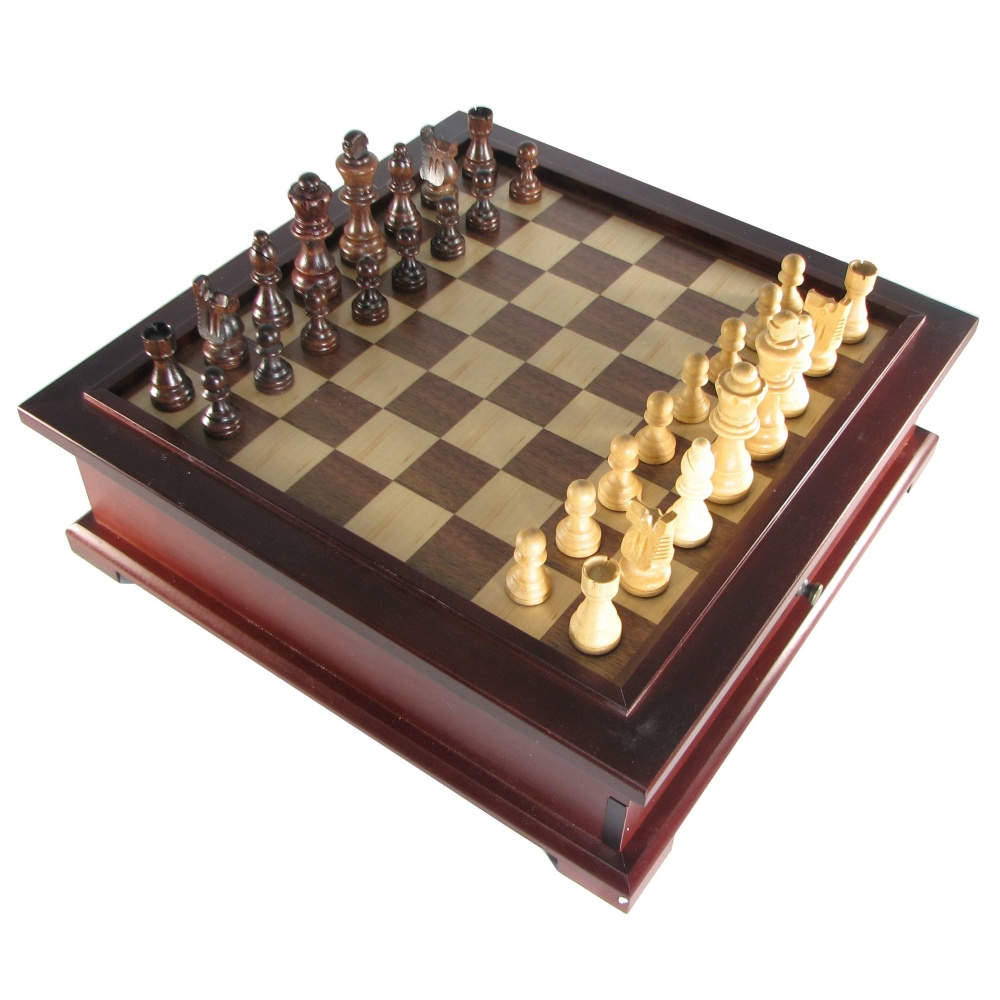 Chess backgammon checker combination sets 10 in 1 wooden multi game chess set gamestrikefo Images