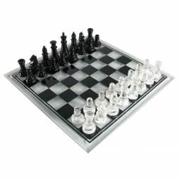 Charming Glass Chess Set