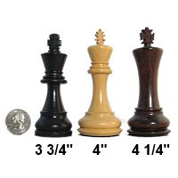Tournament Size Chess Pieces