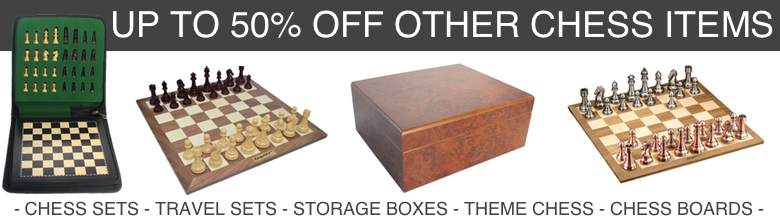Save up to 50% on other chess items