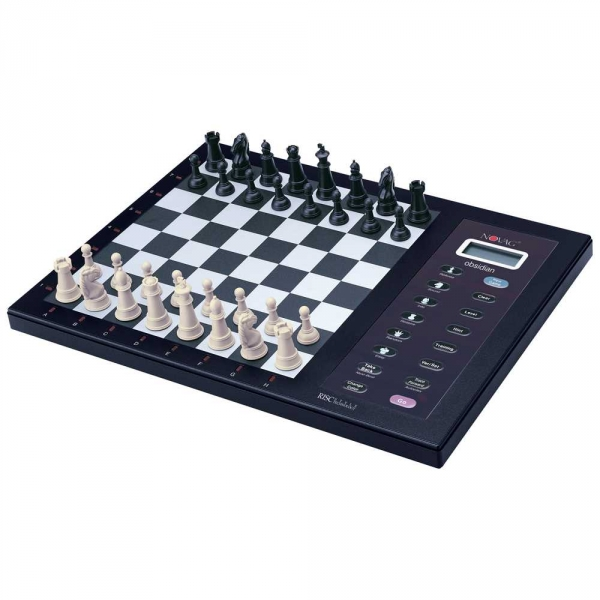 Electronic Chess Computers are a great option to have the full feel of chess with a 3-d board.