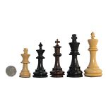Chessmen by King height