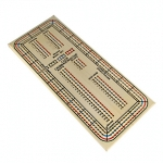 We have many two, three, and four track cribbage sets