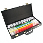 We have a great assortment of western style mah-jong sets including all required accessories