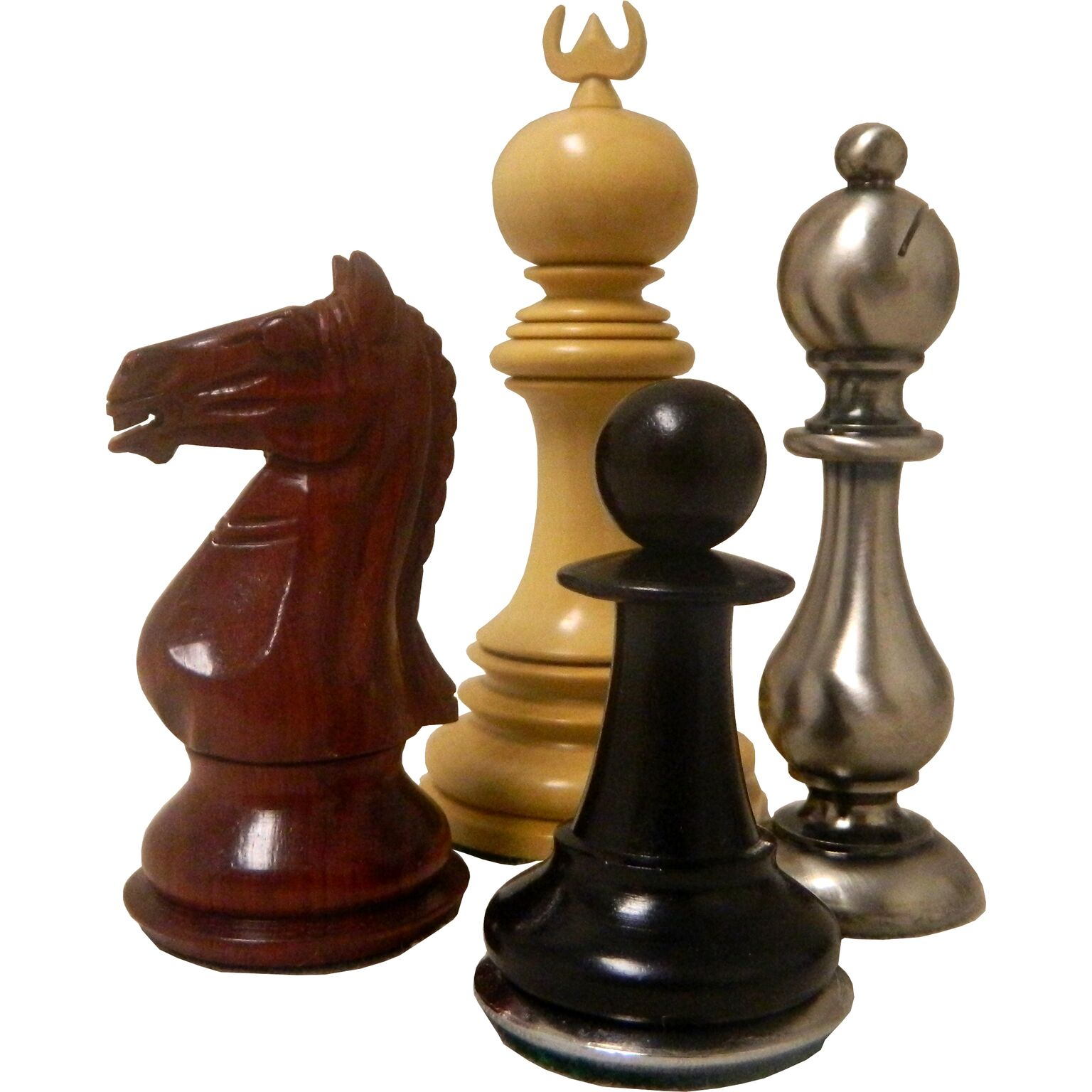 traditional chess piece collection