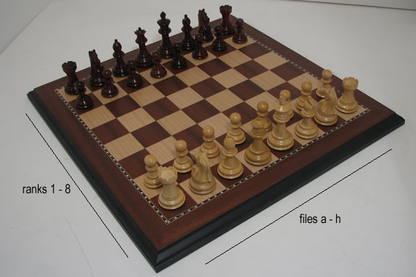 Chess Set : chess table set up - pezcame.com