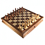 Charming Staunton Chess Sets With Chess Board