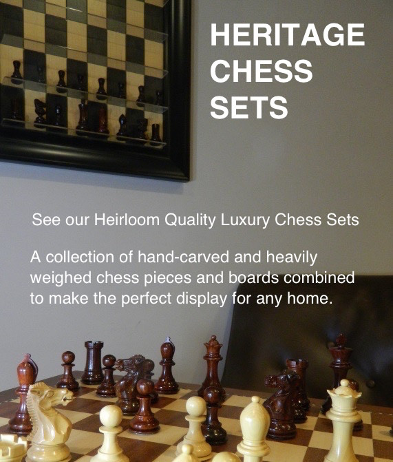 Heirloom Chess Sets   A Selection Of Luxury Hand Carved Chess Pieces And  Boards