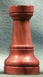 Chess Pieces - Honey Rosewood