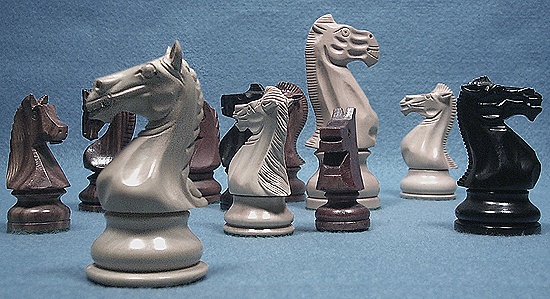 How do I choose Chessmen?